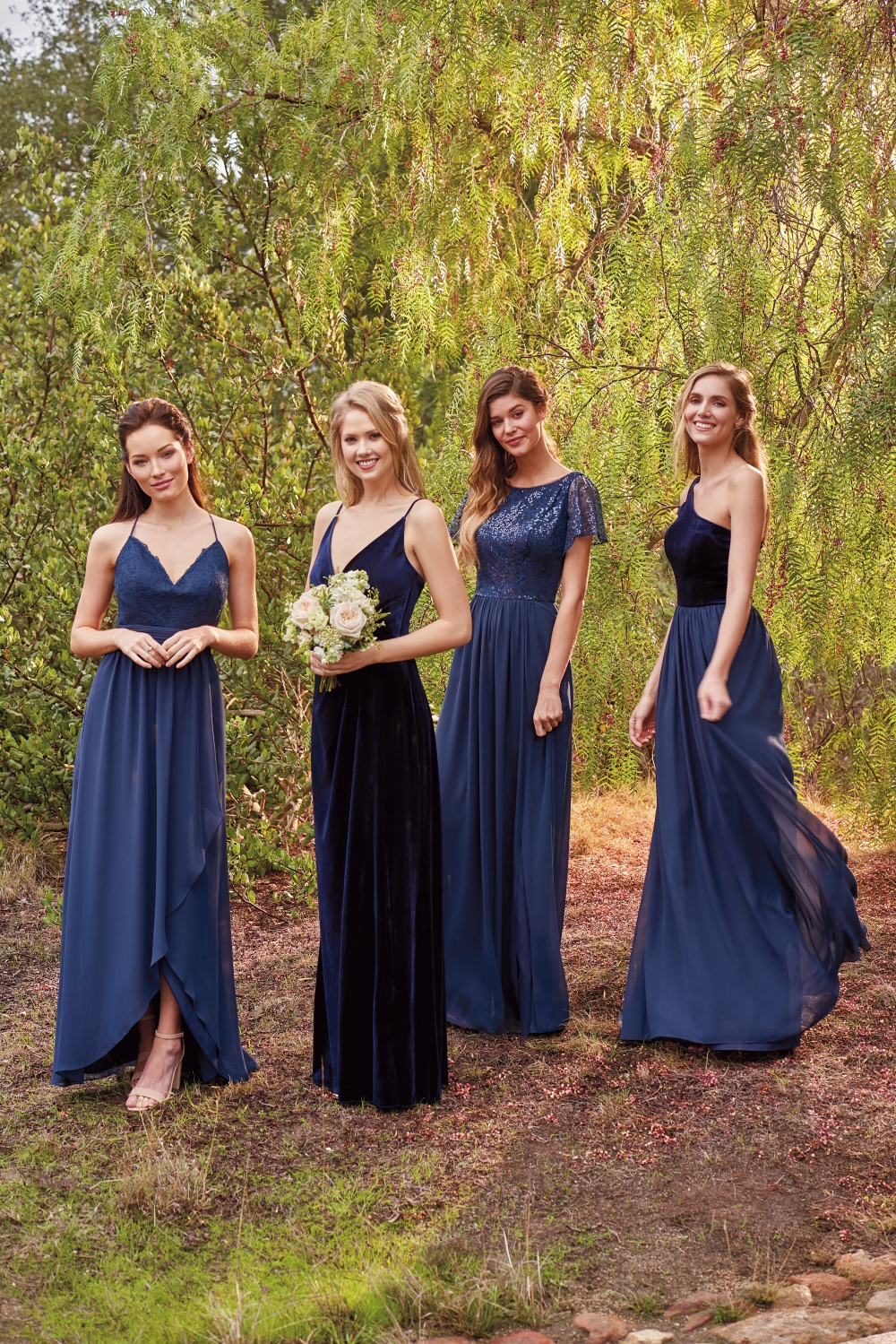 navy-winter-bridesmaid-dresses