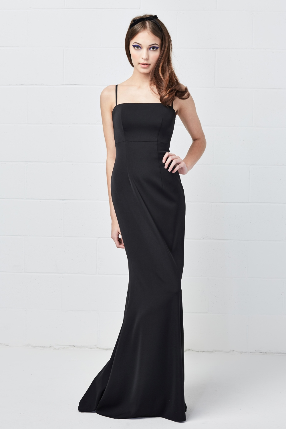 simple-black-bridesmaid-dresses