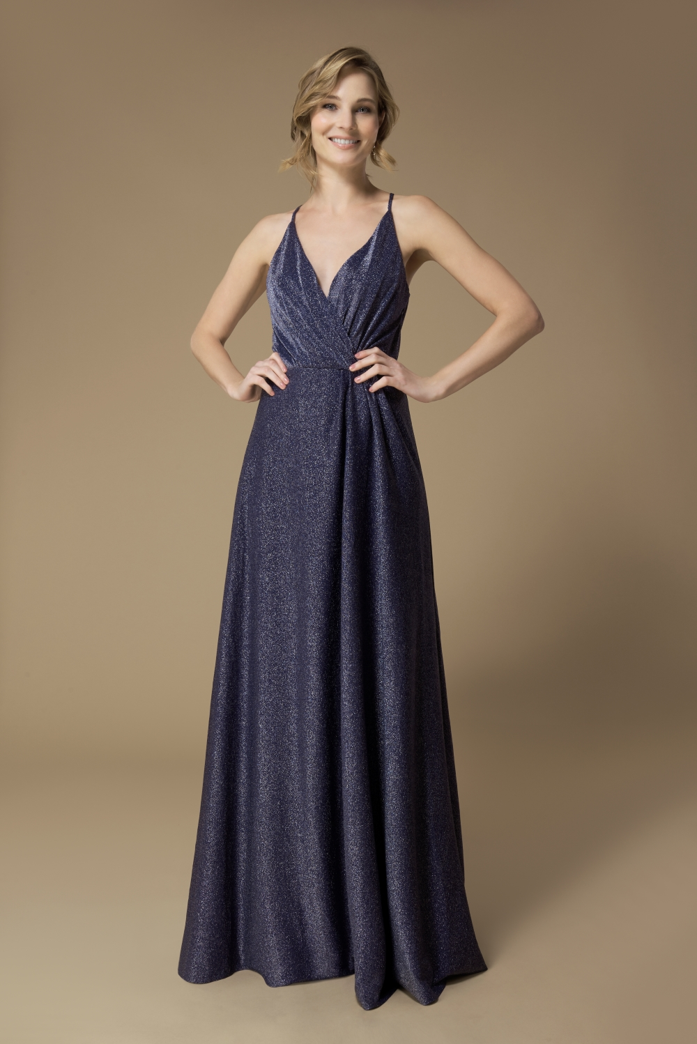 sparkly-blue-bridesmaid-dress