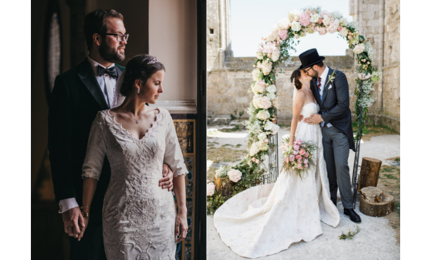 two-different-wedding-dresses
