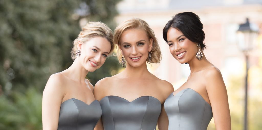 silver-winter-bridesmaid-dresses