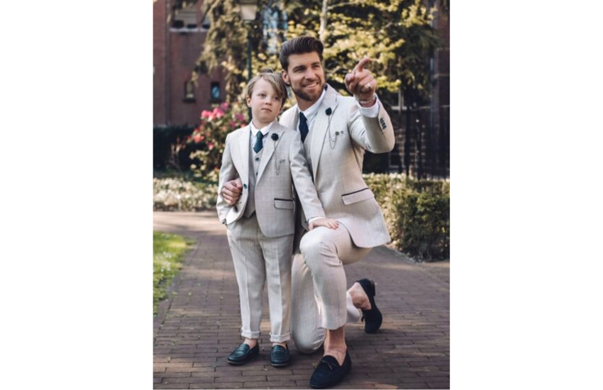 cream-tweed-wedding-suit-for-summer