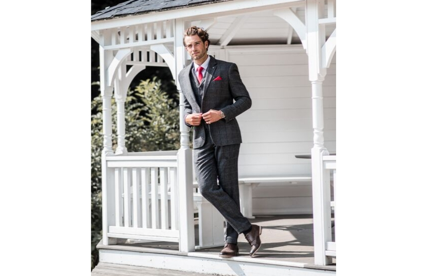 dark-grey-tweed-wedding-suit
