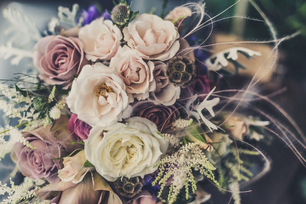 May bridal bouquet