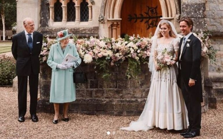 Princess Beatrice and Queen Royal Wedding